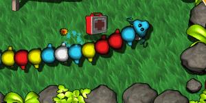 Hra - Motley mutant worm