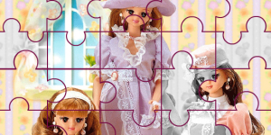Hra - Barbie Puzzle