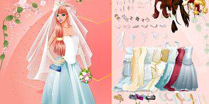Hra - A Beautiful Bride Dress Up