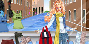 Hra - Oblékni Barbie 1