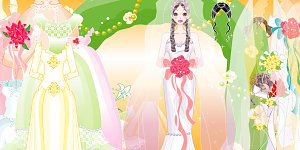 Hra - Wedding Dressup 4