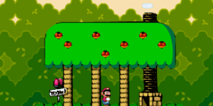 Hra - Super Mario Vetorial