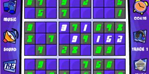 Hra - Sudoku Toon