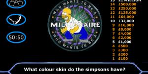 Hra - Simpsons Millionaire
