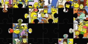 Hra - Simpsonovi puzzle