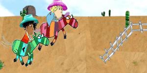 Hra - Sock Pony Race