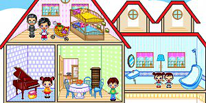 Hra - Family dollhouse 2