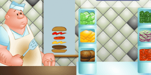Hra - The Great Burger Builder