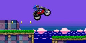Hra - Sonic Ninja Motobike