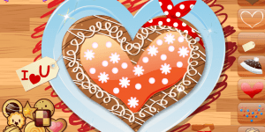 Hra - Heart Cookies Decoration