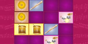 Hra - Music Matching Memory Game