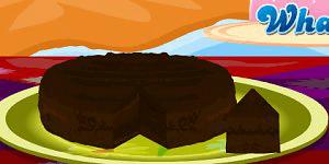 Hra - Eggless Chocolate Cake