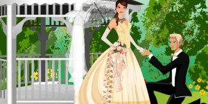 Hra - My Romantic Victorian Wedding Dress Up