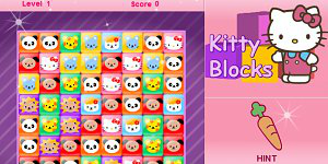 Hra - Hello Kitty Blocks