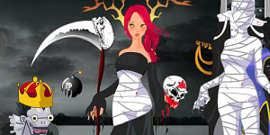 Hra - Scary Halloween Dressup