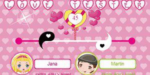 Hra - All for Girls Love Tester