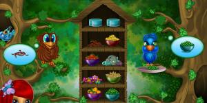 Hra - Lisa Feeds the Birdies
