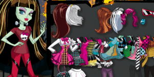 Hra - Monster High Scary Fashion