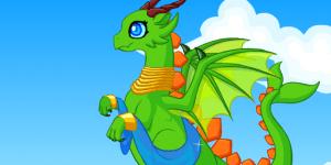 Hra - Tiny Dragon Dress Up