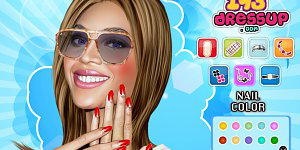 Hra - Beyonce Nail And Face Makeover
