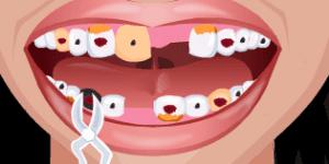 Hra - Crazy Dentist