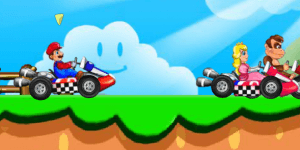 Hra - Super Mario Racing
