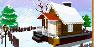 Hra - Design your Winter House