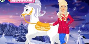 Hra - Barbie's Winter Pony