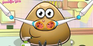 Hra - Pou Nose Doctor