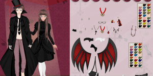 Hra - Vampire Couple Dress Up