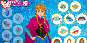 Hra - Frozen Elsa and Anna Hairstyles