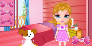 Hra - Baby Barbie Adopts A Pet