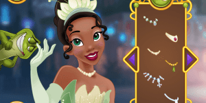 Hra - Princess Tiana Great Makeover