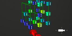 Hra - 2048 3D