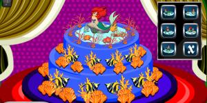 Hra - Princess Ariel Cake