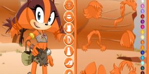 4452661084 Sonic Boom Sticks The Badger Dress Up Dekoračné online hry ...