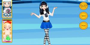 Hra - Teen Snow White Ice Skates