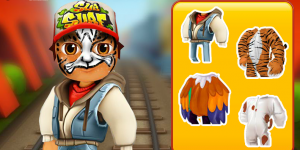 Hra - Subway Surfers Face Tattoo