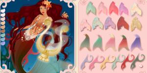 Hra - Beautiful Mermaid