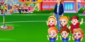 Hra - Baby Hazel Sports Day