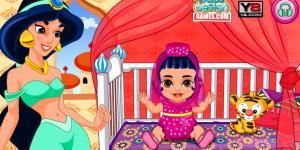 Hra - Jasmine's Baby Princess Caring