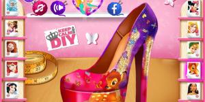 Hra - Cinderella' s Disney Shoes