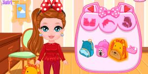 Hra - Baby Barbie School Morning
