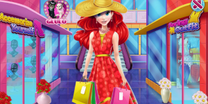 Hra - Ariel and Jasmine Mall Shopping