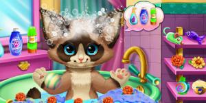Hra - Kitten Bath