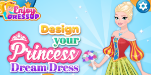 Hra - Design Your Princess Dream Dress