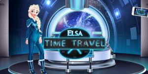 Hra - Elsa Time Travel Game