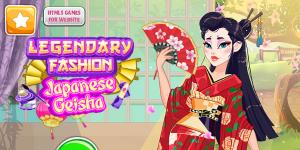 Hra - Legendary Fashion: Japanese Geisha