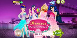 Hra - Princess Mermaid Parade