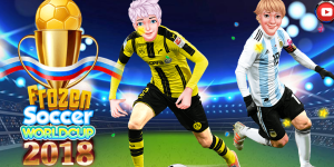 Hra - Frozen Soccer Worldcup 2018